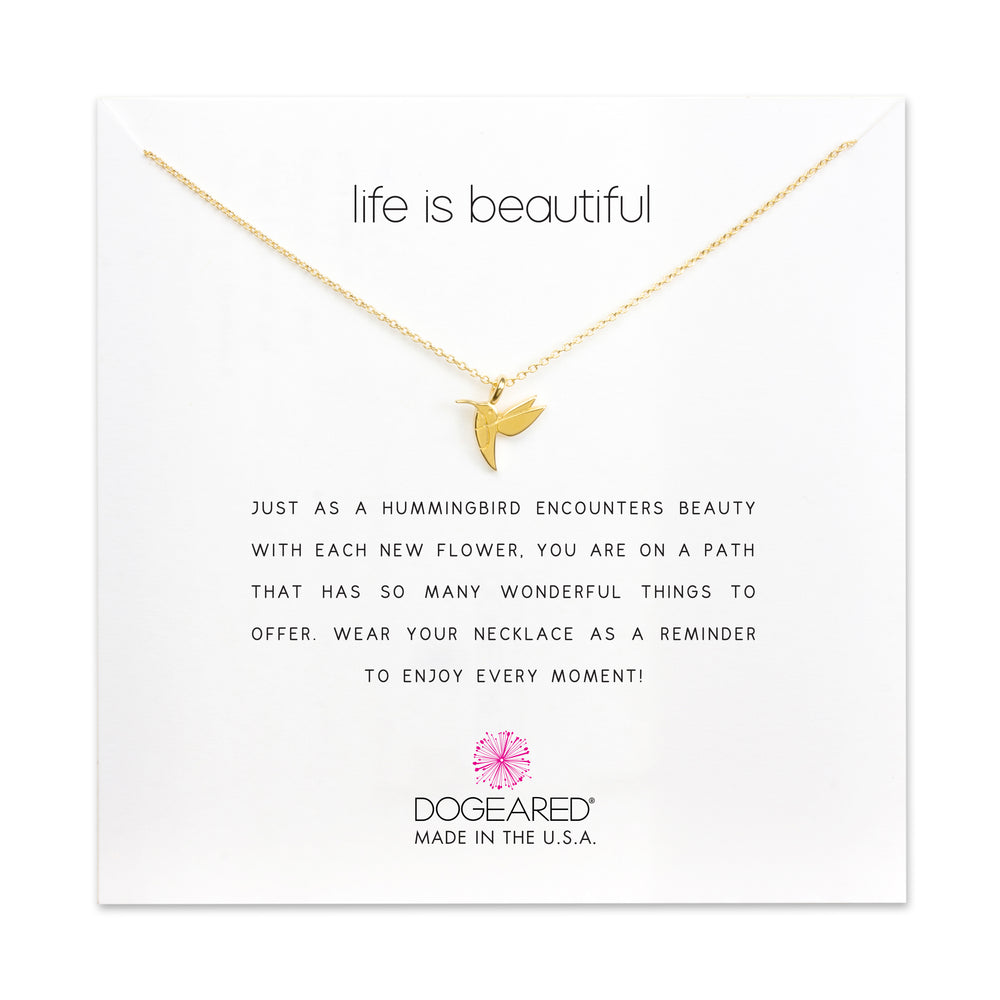 "Collar ""Life is Beautiful"""