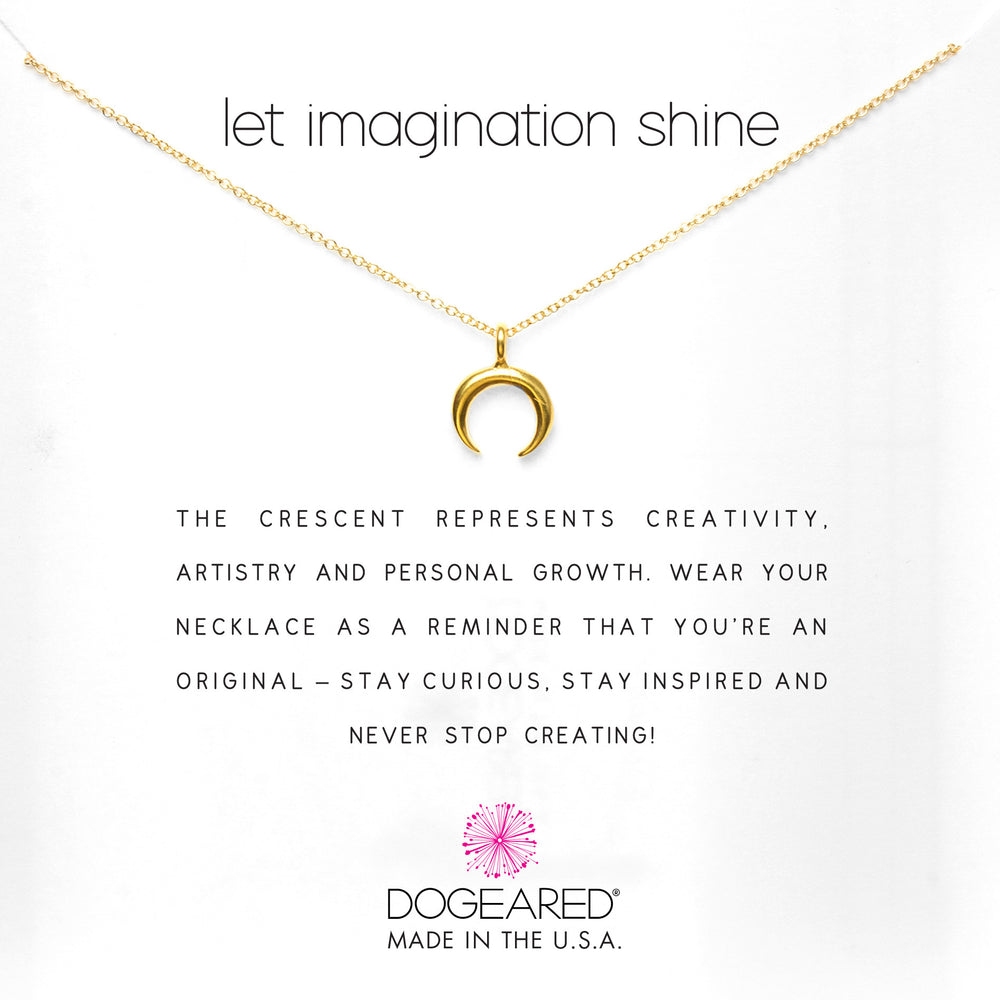 "Collar ""let imagination shine"""