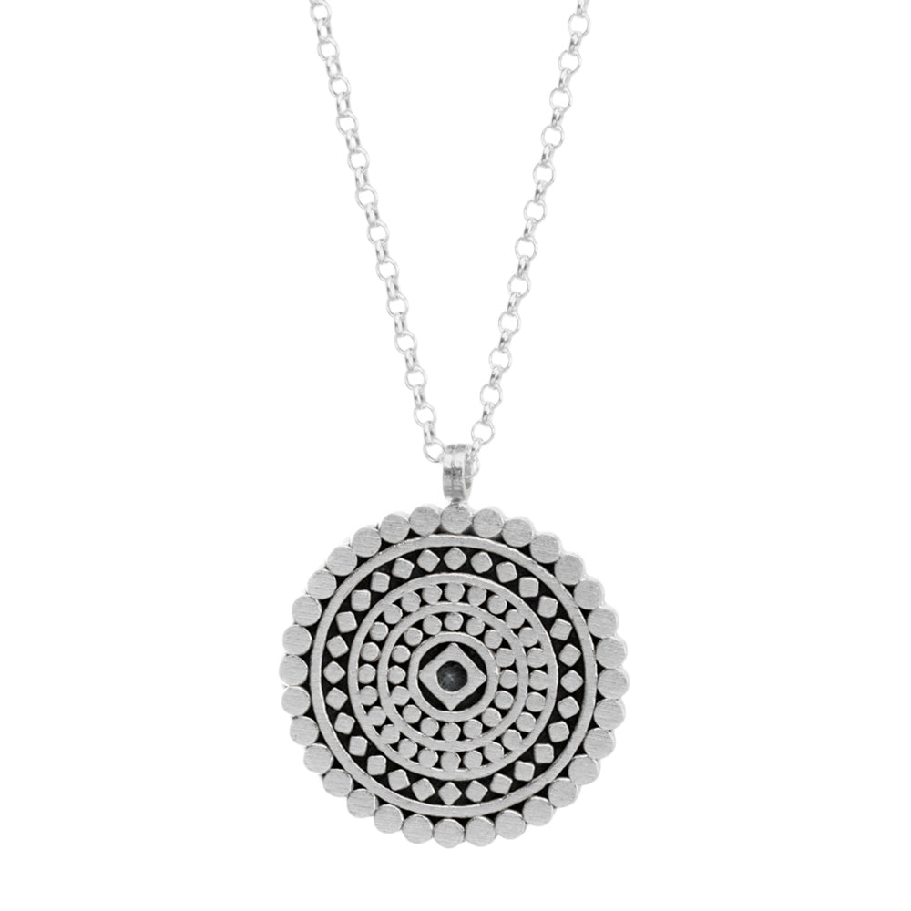 "Collar mandala ""mindful"""