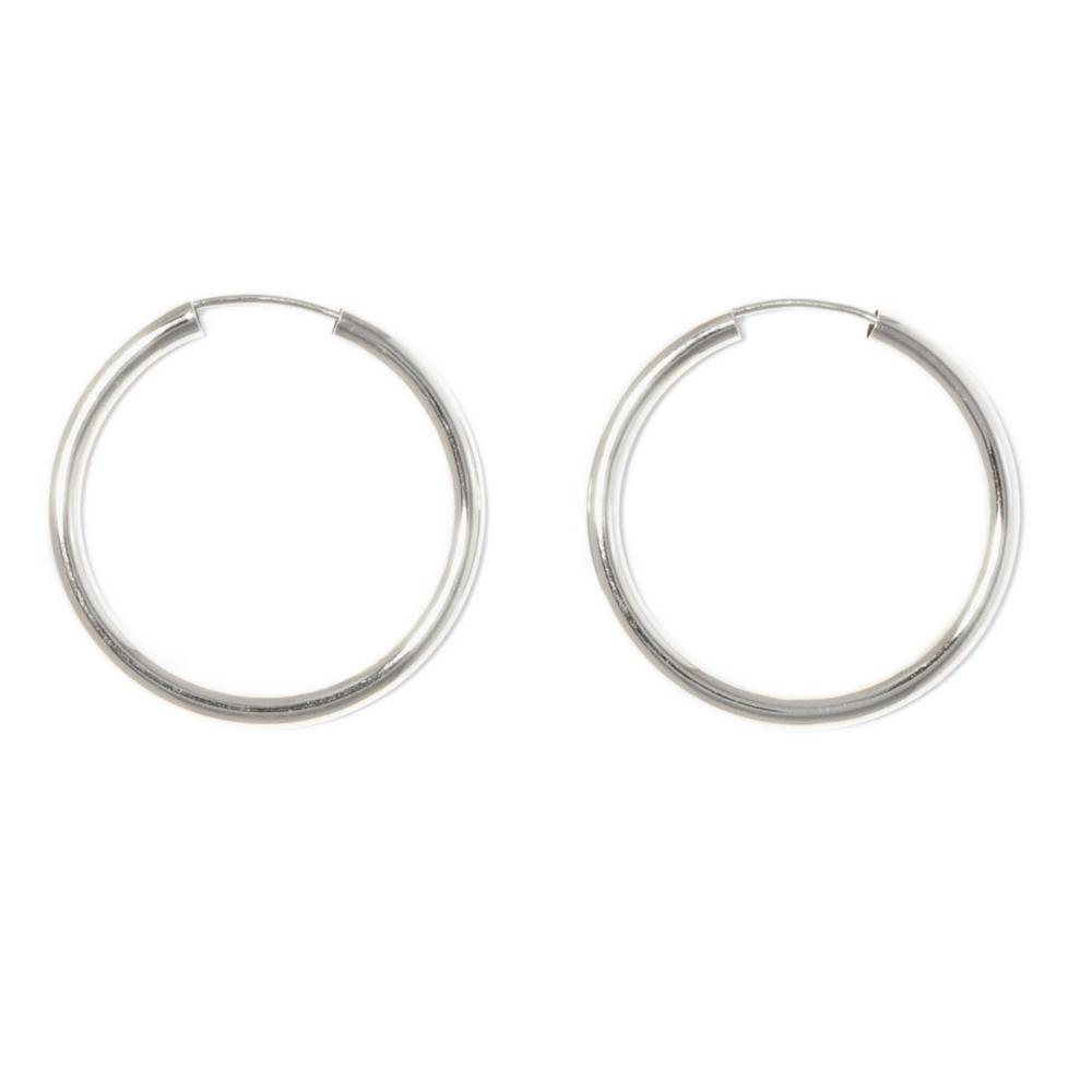 Argollas de Plata 30mm