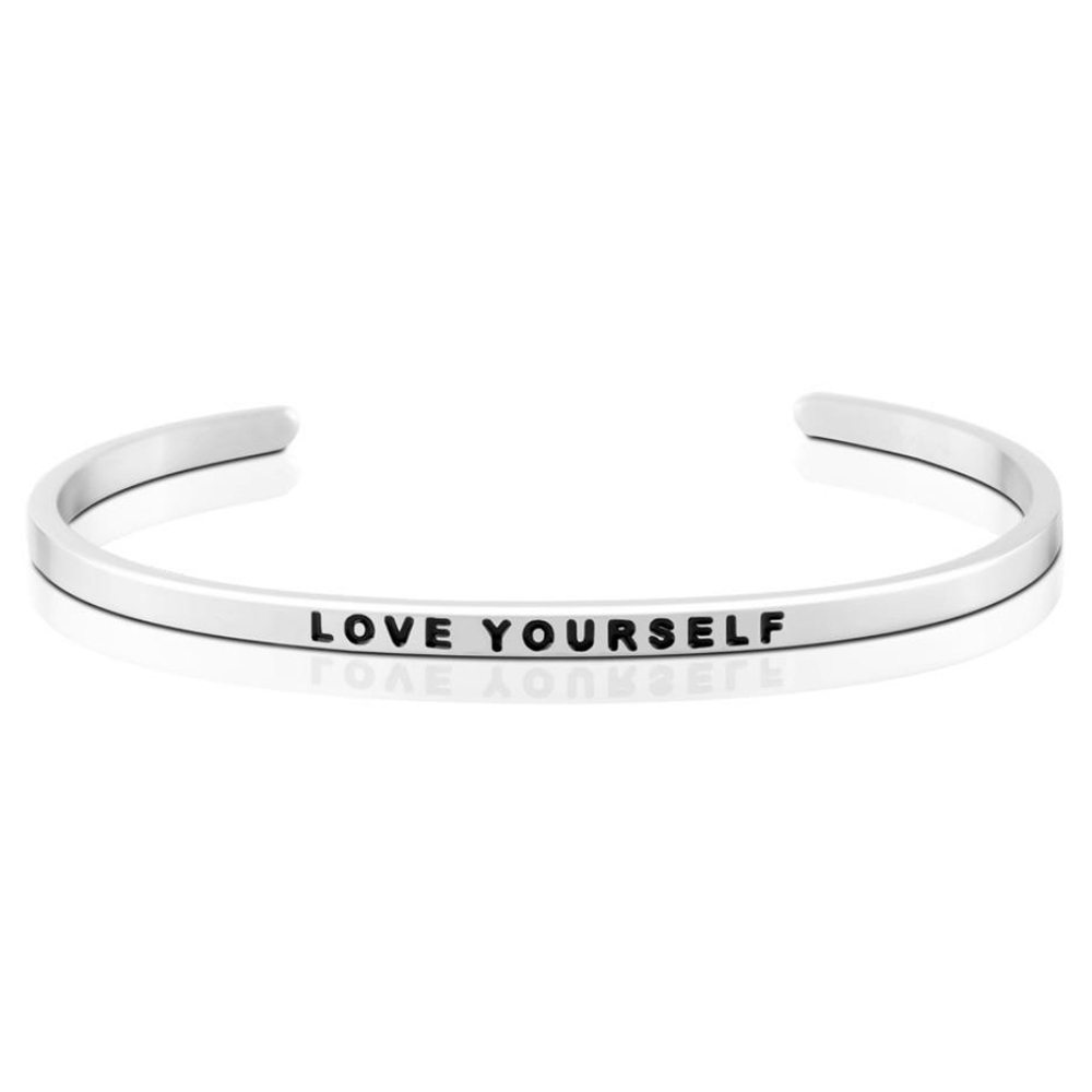 Pulsera Love Yourself Acero