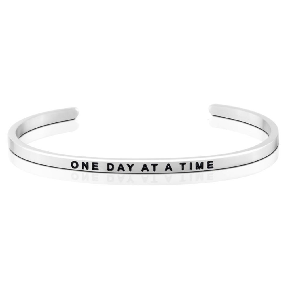 Pulsera One Day At A Time Acero