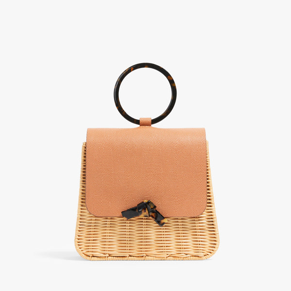 Edie Tortoise Ring Bag
