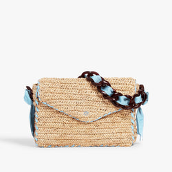 Las Olas Shoulder Bag Baby Blue