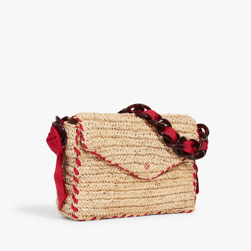 Las Olas Shoulder Bag Candy Apple