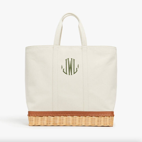The Gardner Tote Monogram #4