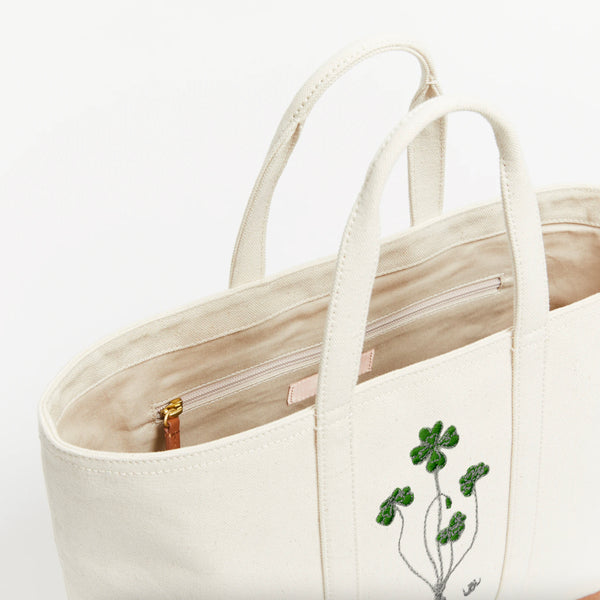 The Gardner Tote Lucky Clover