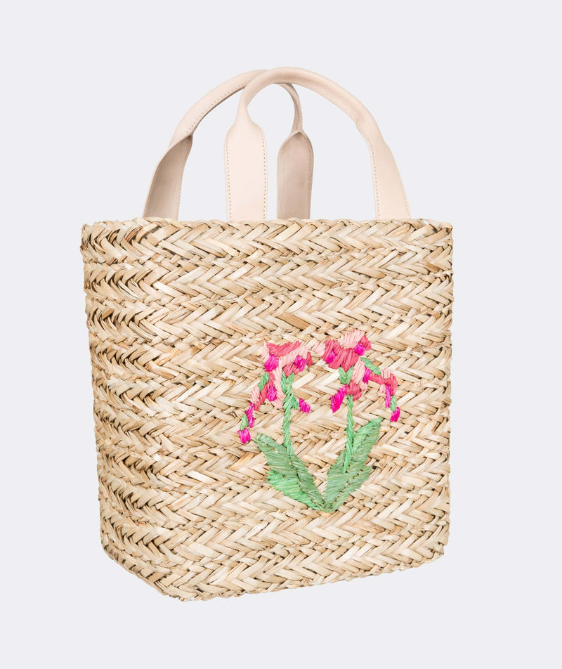 Harbor Beach Orchid Tote