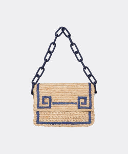 Greek Key Shoulder Bag