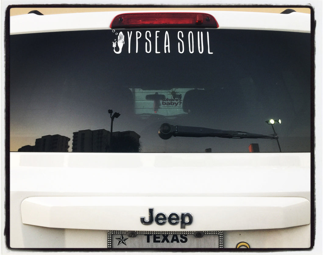Jypsea Soul Decal Sticker