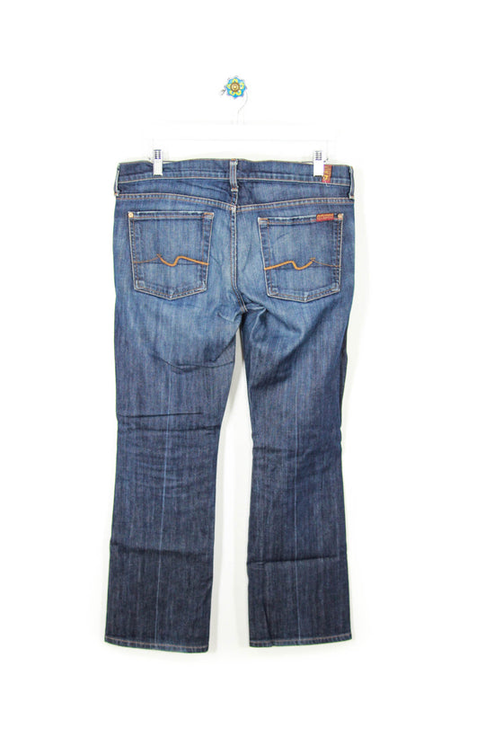 7 For All Mankind Size 32 Bootcut Denim