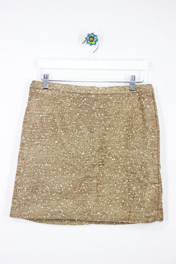 Apt.9 Size 6 Gold Sparkle Skirt