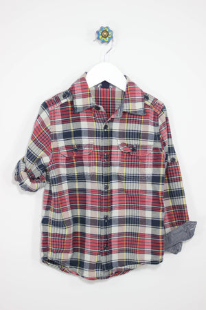 Baby Gap 5T Convertible Plaid Shirt - Josie's Friends, LLC