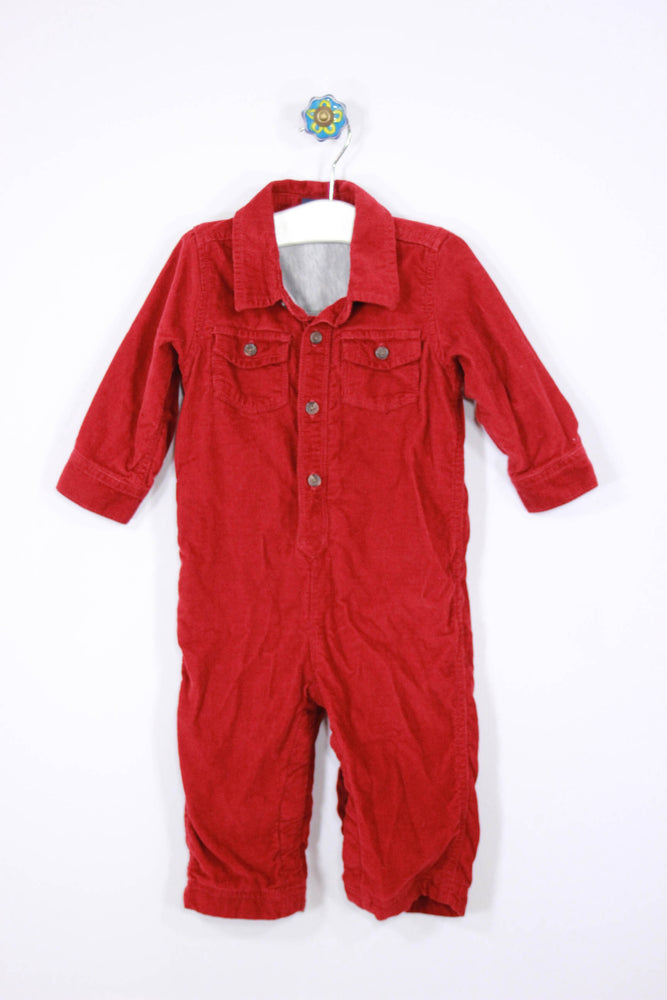 Baby Gap Size 12-18M Corduroy Lined One Piece - Josie's Friends, LLC