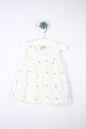 Baby Gap Size 18-24M Colorful Tank Top