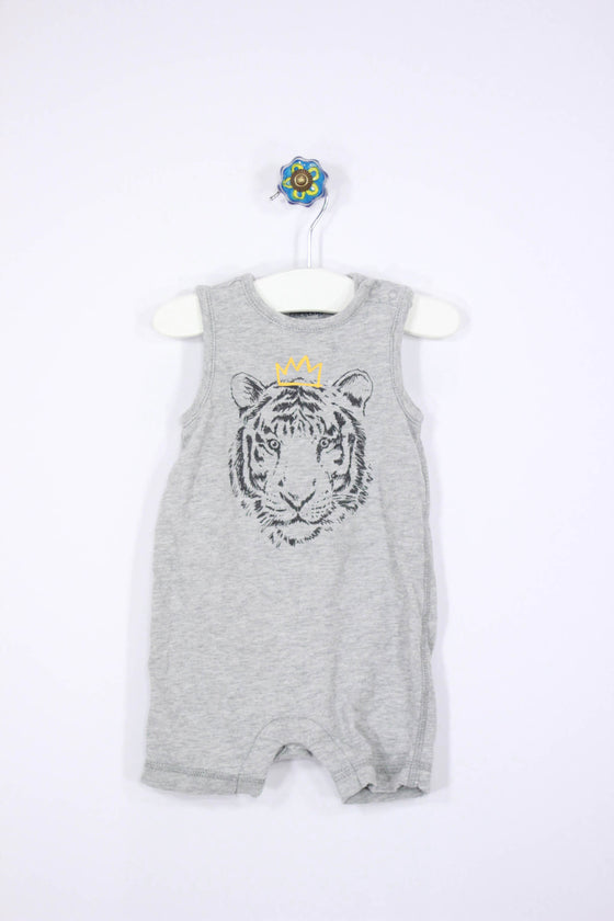 Baby Gap Size 3-6M Lion Tank Romper - Josie's Friends, LLC