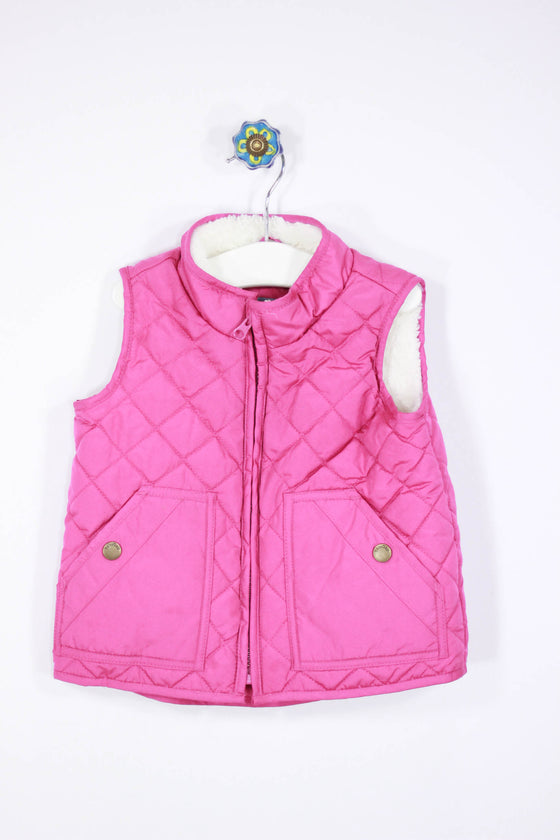 Baby Gap Size 3T Fleece Lined Vest