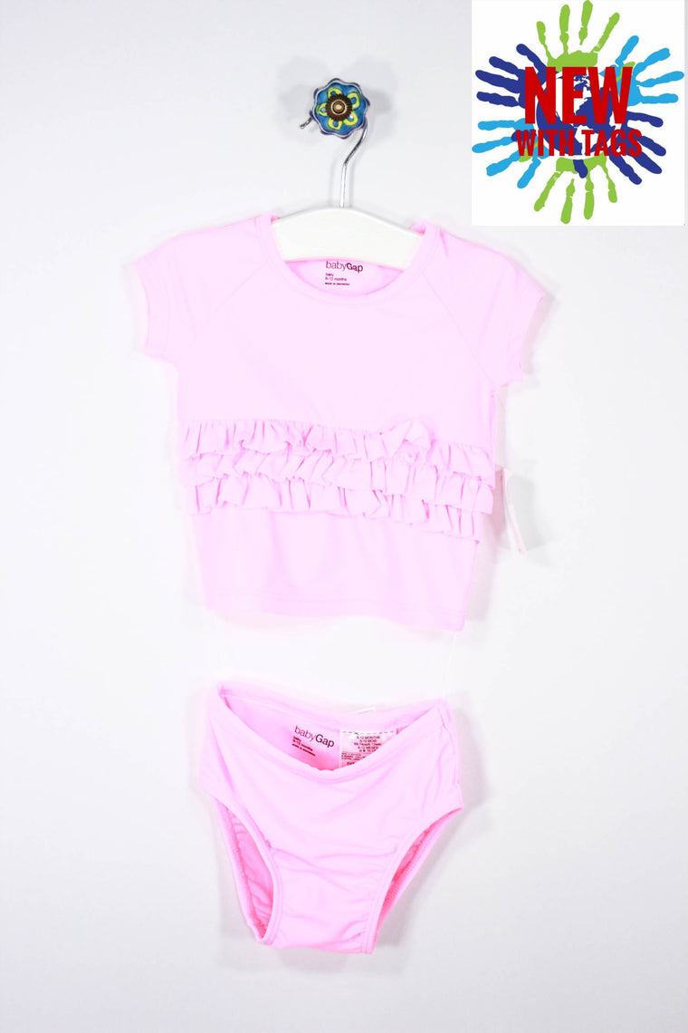 9bd6effc62 Baby Gap Size 6-12M Two Piece Swimsuit