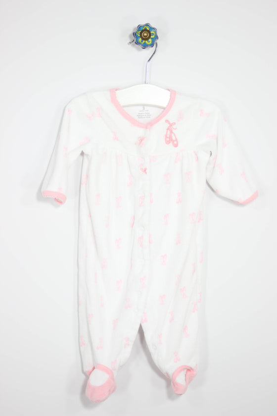 Carter's Size 0-3M Terry Cloth Footed Pajamas - Josie's Friends, LLC