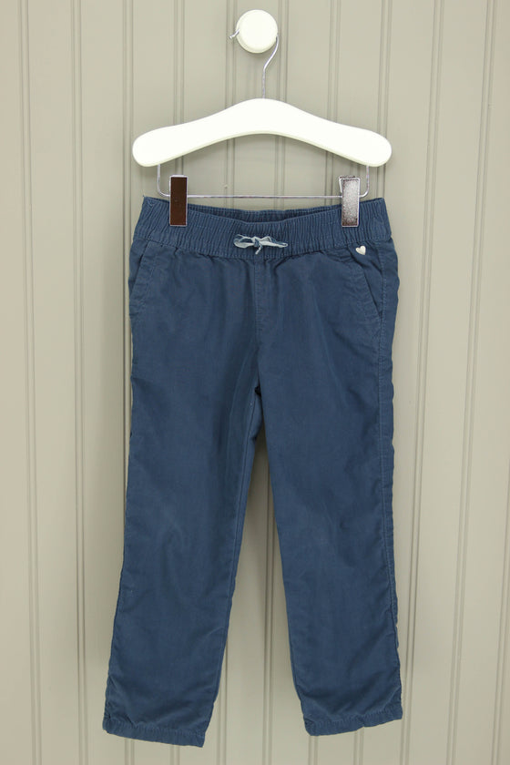 Carter's Size 2T Navy Easy Fit Lined Pants