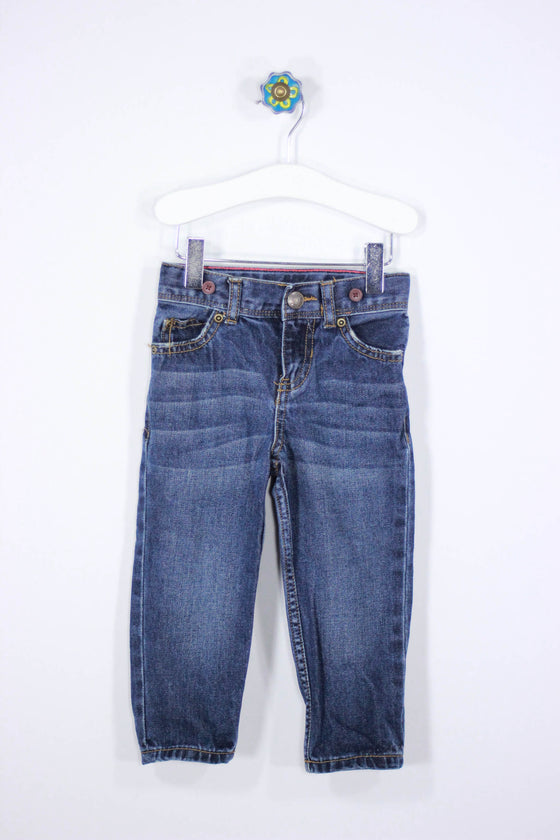 Carter's Size 2T Straight Leg Denim