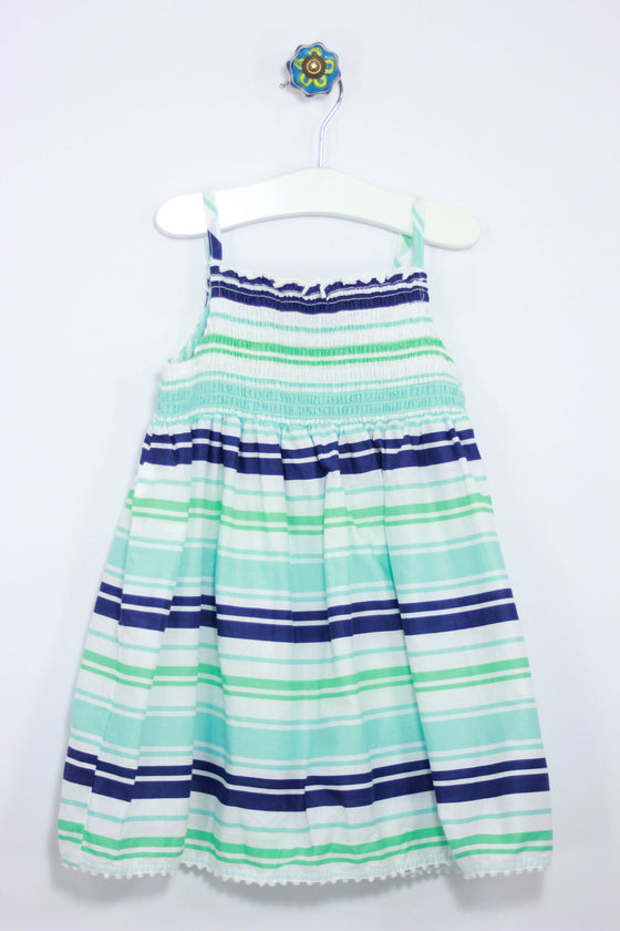 Carter's Size 3T Stripe Poplin Dress