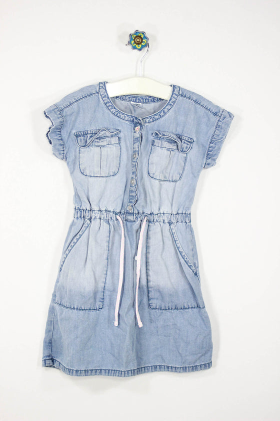 Carter's Size 5T Chambray Dress