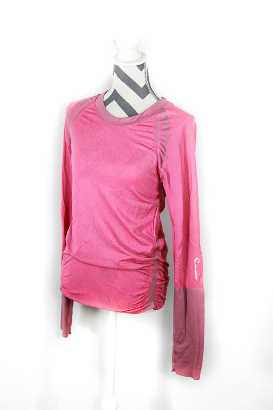 Climawear Size Large Active Seamless Ruched Top