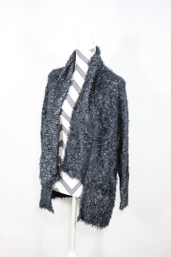Express Size Small Open Front Cardigan