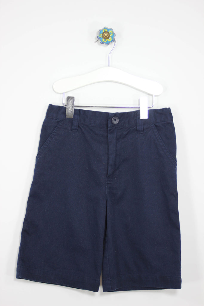French Toast Size 6 Navy Flat Front Shorts