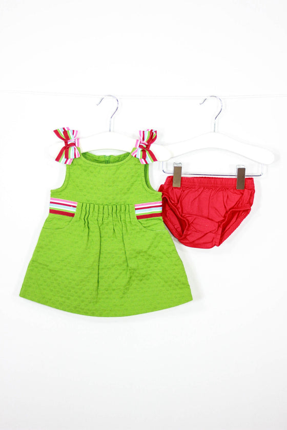 Gymboree Size 3-6M Summer Dress with Bloomers