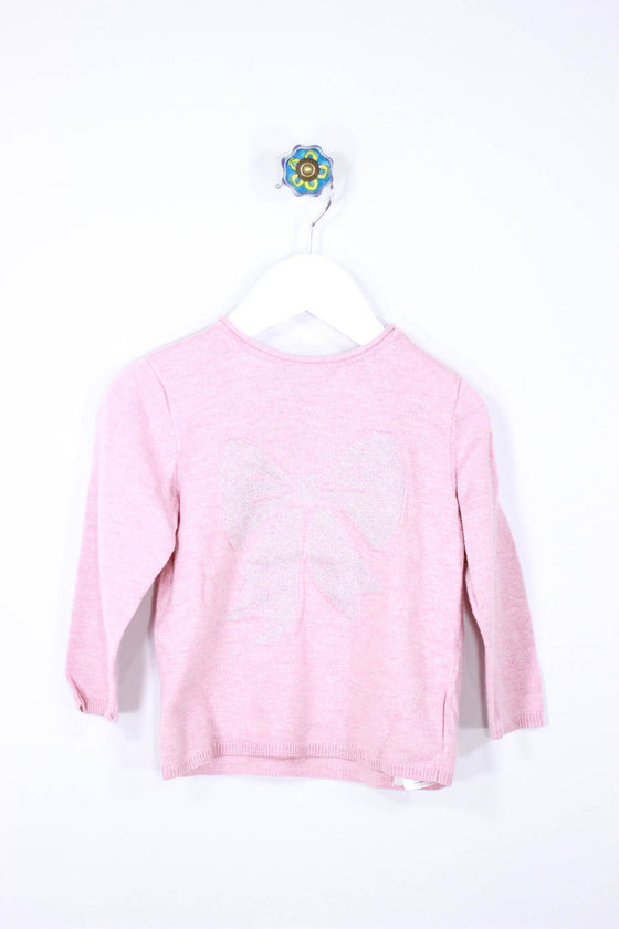 H&M Size 12-18M Bow Sweater