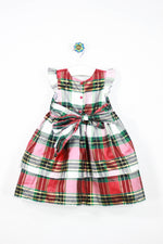 Holiday Editions Size 2T Christmas Plaid Dress