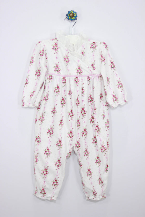 Janie and Jack Size 12-18M Floral Layette