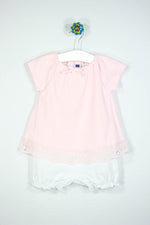 Janie and Jack Size 6-12M Shorts One Piece