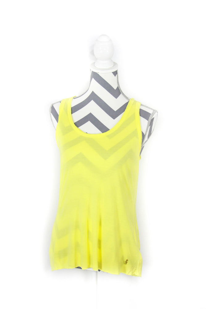 Juicy Couture Size Small Yellow Tank