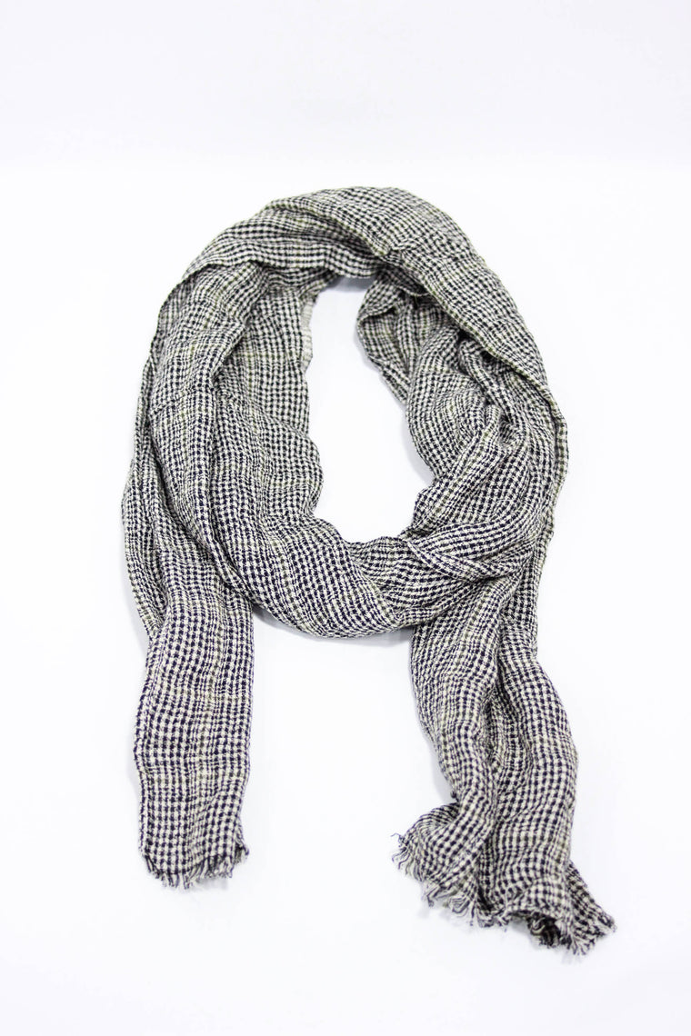 Kind Gestures Black/White Scarf