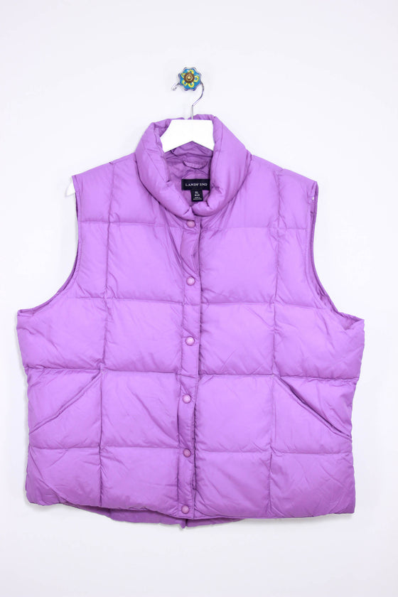 Lands End Size XL Puffy Vest