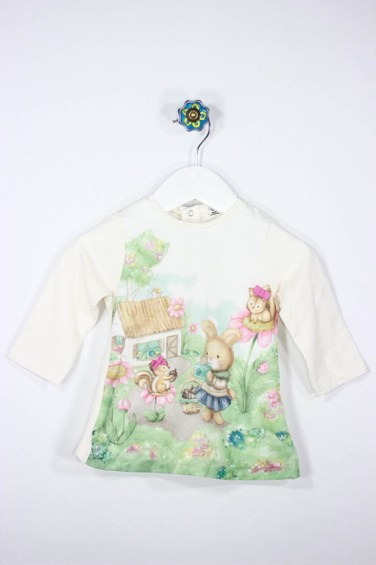 Mayoral Size 3-6M Bunny Shirt