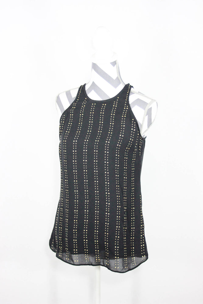 Michael Michael Kors Size Small Sleeveless Studded Top