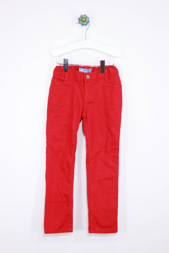 Old Navy Size 5T Red Denim