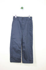Old Navy Size 8 Flat Front Navy Pants