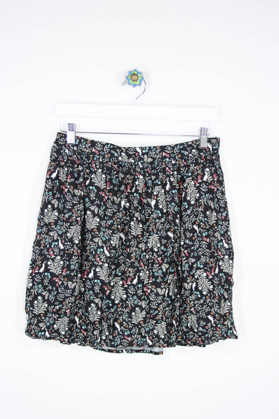 Old Navy Size Medium Lined Print Skirt