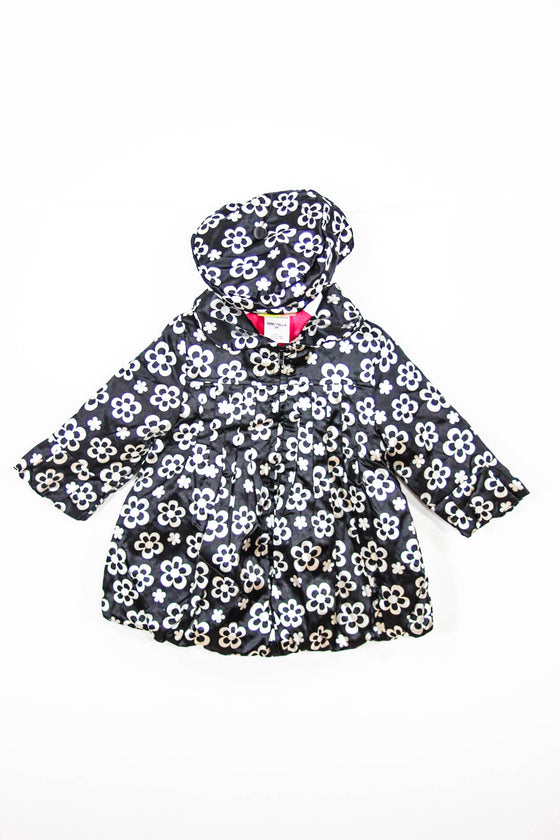 Penelope Mack Size 2T Fleece Lined Coat and Hat