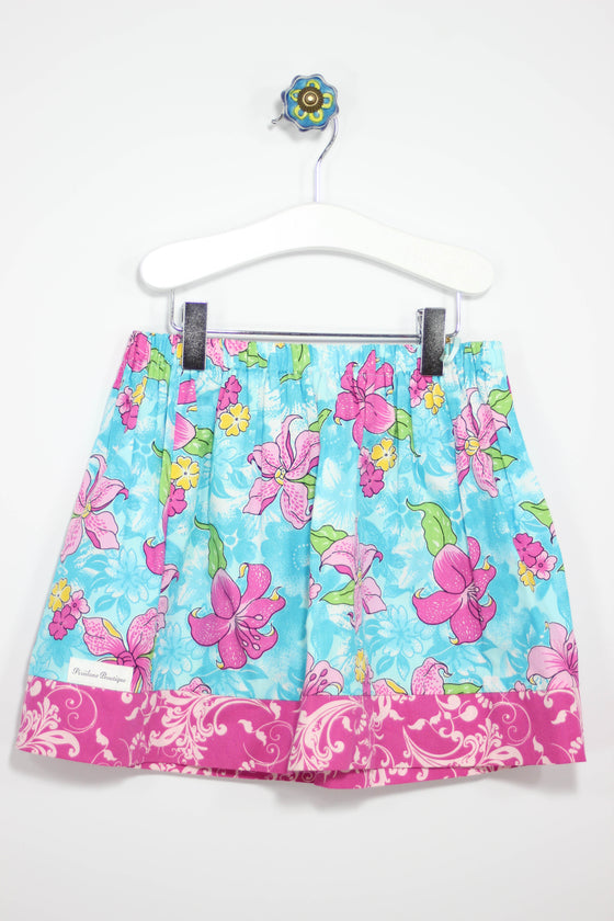 Pixiilane Boutique Size 4T Hawaiian Skirt