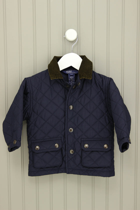Polo by Ralph Lauren Size 12M Quilted Jacket - Josie's Friends, LLC
