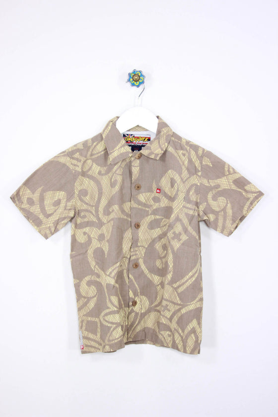 Quiksilver Size 7 Everyday Hawaiian Shirt