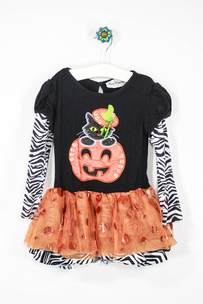 Rare Editions Size 5 Pumpkin Tutu Top