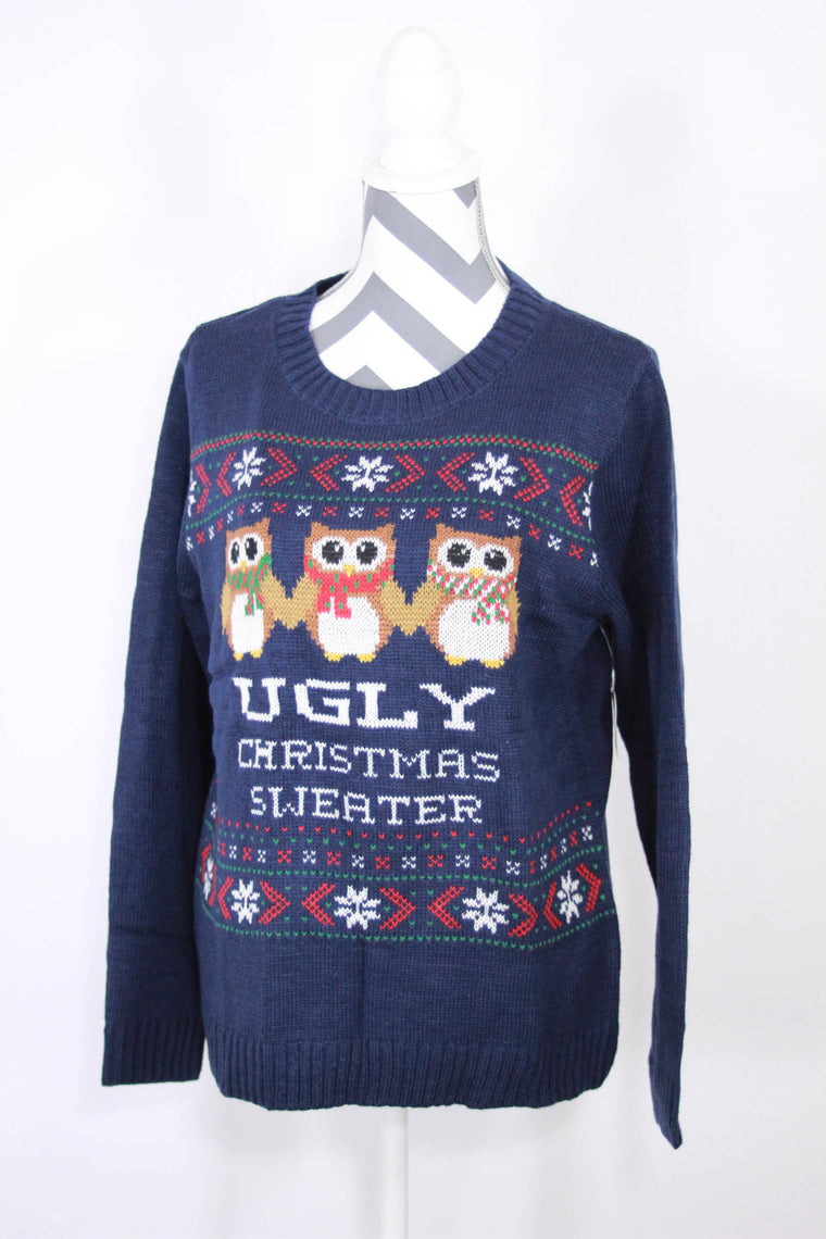 Self Esteem Size Large Ugly Christmas28Sweater