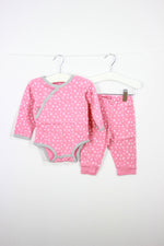 Skip Hop Size 9M Peach X and 0 Bodysuit and Leggings